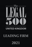 Legal 500 Legal Firm 2021